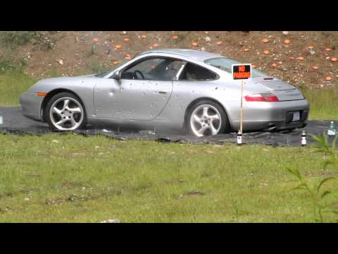 Firearms vs Porsche 911