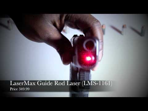 Glock 27 with LaserMax Guide Rod Laser