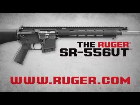 Ruger SR-556VT Promo