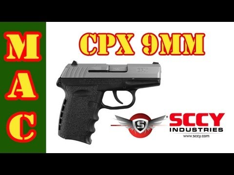 SCCY CPX 9mm