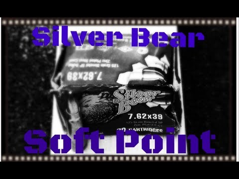 Silver Bear Soft Point 7.62x39 Ballistics Gel Test