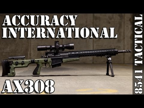 Accuracy International AX308 Rifle Review