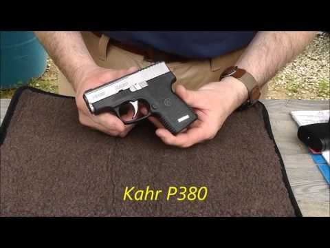 Kahr P380 Range Review