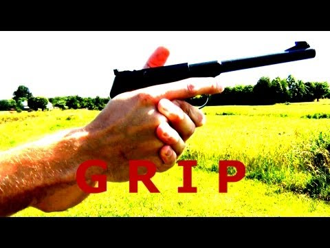 Precision Pistol Shooting Tips - The Grip