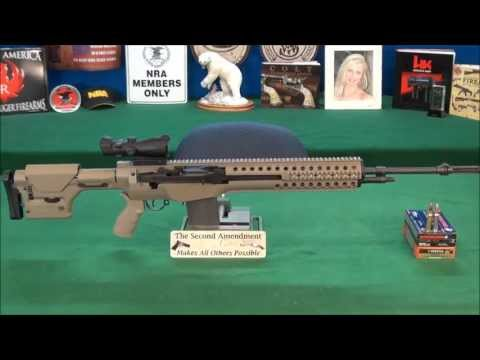 Springfield M1A with Troy M14 Sniper System