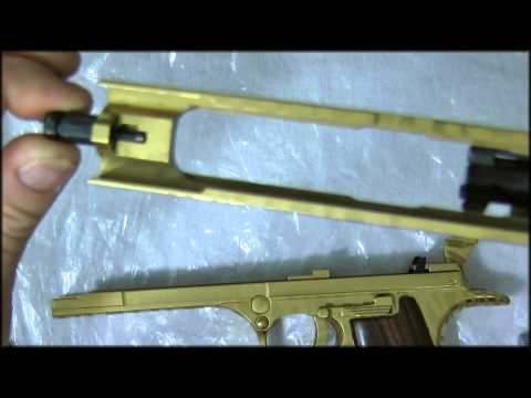 50AE Desert Eagle Bolt and Firing Pin Removal