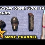 7.62x54r Steel Core Ammo Penetration Test