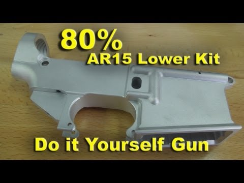 80 Percent AR-15 Lowers from Whiskey Arms