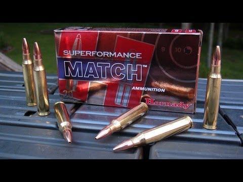 Ammo Test - 5.56mm Hornady Superformance Match 75 gr BTHP