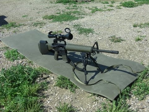 AR15A2 Precision Rifle - 100 and 600 Meter Shooting