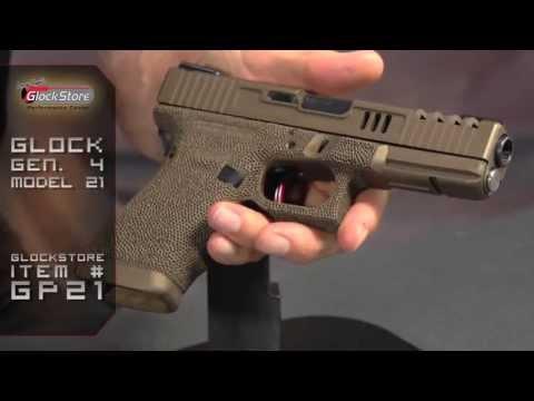 Burnt Bronze Beauty - Custom Glock 21 Gen 4