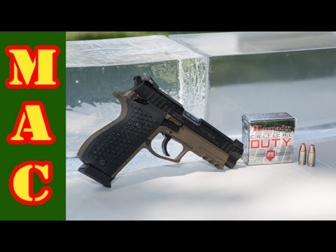 Critical Duty 9mm Penetration Test