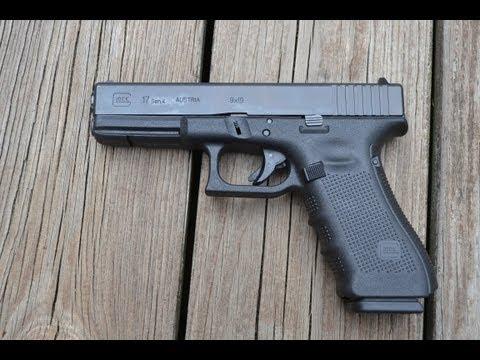 Glock 17 Gen 4 9mm Pistol
