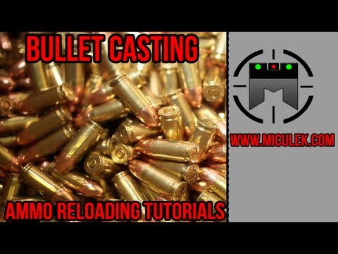 How to Cast Bullets out of Scrap Lead