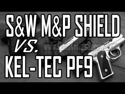 Kel Tec PF9 vs S&W M&P Shield