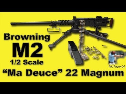 Browning M2 Machine Gun Rimfire Replica