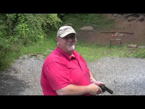 Shooting a Colt Diamondback Revolver