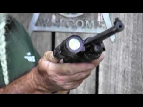 Shooting Ruger's 10/22 Semi-Auto 22 Carbine with LaserMax Laser