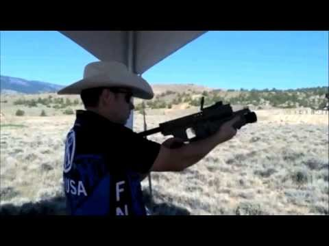 Shooting the FN MK 13 EGLM