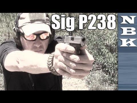 Sig Sauer P238 - Silver Bear Steel Ammo