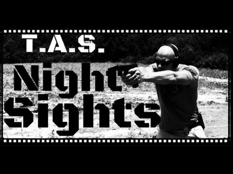 T.A.S. Prototype Glock Tritium Night Sight Review