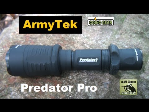 ArmyTek Predator Pro Flashlight 670 Lumens