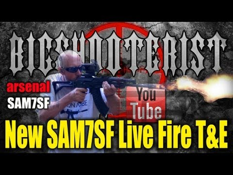 Arsenal SAM7SF Live Fire T&E