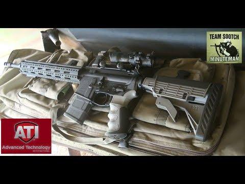 ATI Strikeforce AR-15 Stock and Free Float Handguard