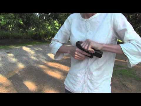 Brass Stacker Slide Pull Charging Handle
