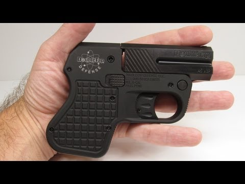 DoubleTap 45 Auto Tactical Pocket Pistol Review - Part 1