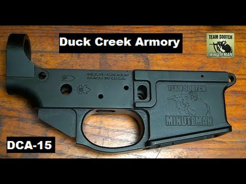 Duck Creek Armory DCA-15 Stripped Billet Lower AR-15