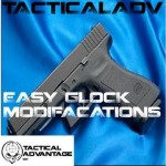 Easy Glock Modification - Extended Slide Release Install
