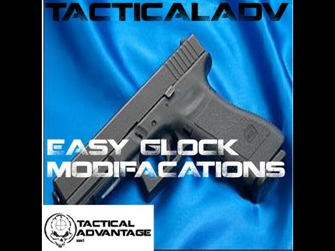 Easy Glock Modification - Extended Slide Release Install