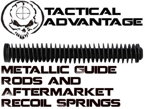 Easy Glock Modifications - Metallic Guide Rod and Recoil Spring Changes