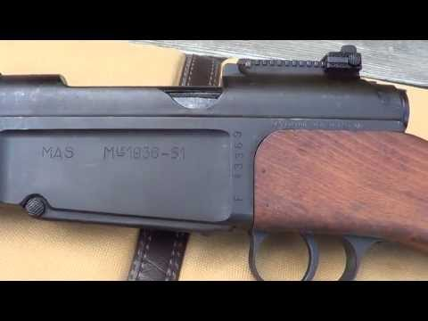 French MAS 36/51 Bolt Action Rifle