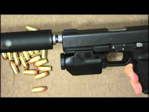 Glock 21 SF Suppressed