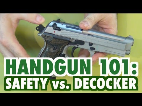 Handgun 101 - Safety vs Decocker