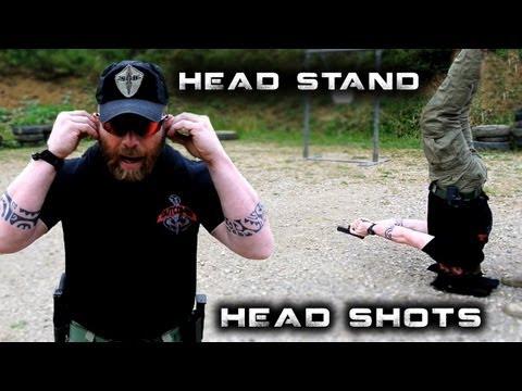 Head Stand Head Shots