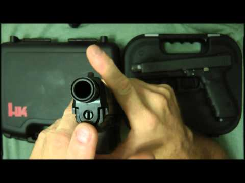 HK45 Tactical vs Glock 21 SF
