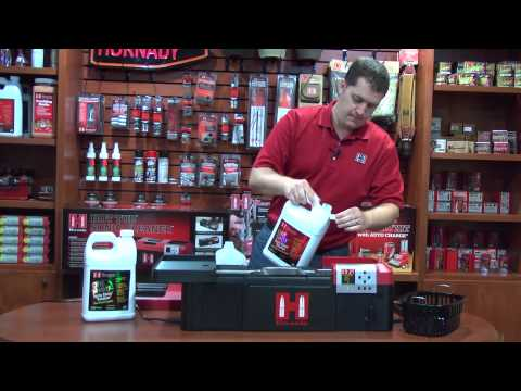 Hornady Hot Tub Sonic Cleaner Full Demo