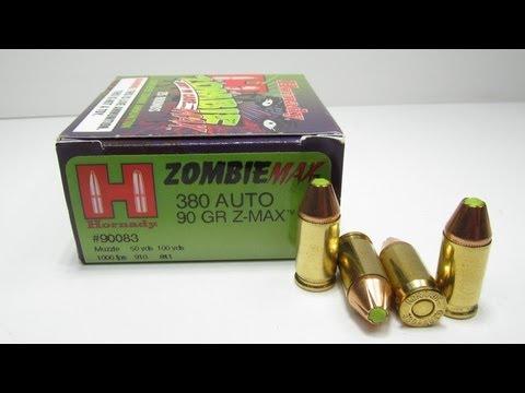 Hornady ZombieMax 380 Auto Ballistics Test