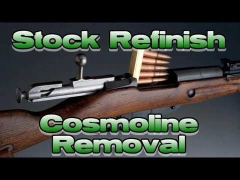 How to Remove Cosmoline from a Wood Stock