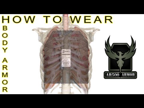 How to Wear Hard Body Armor - AR500 Armor