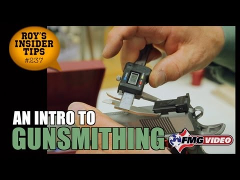Intro To Gunsmithing