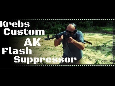 Krebs Custom 4 Prong Flash Suppressor Review