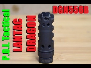 Lantac DGN556B Dragon Muzzle Brake Review and Comparison
