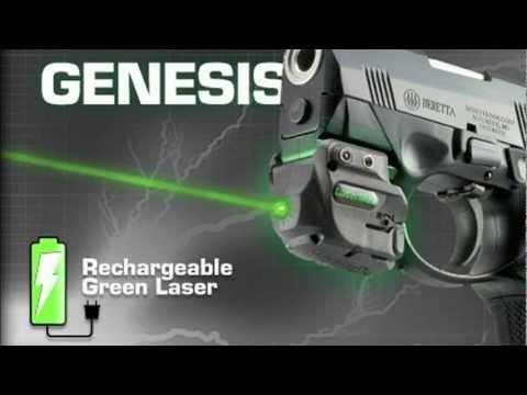 LaserMax Genesis Rechargeable Green Laser