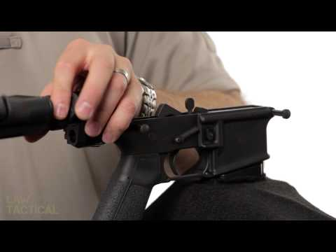 Law Tactical Gen2 AR Folding Stock Adapter Installation and Maintenance