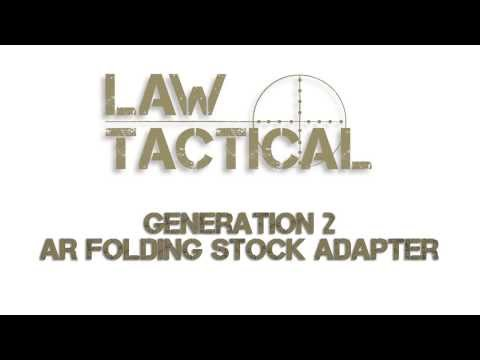 Law Tactical Gen2 AR Folding Stock Adapter Maintenance