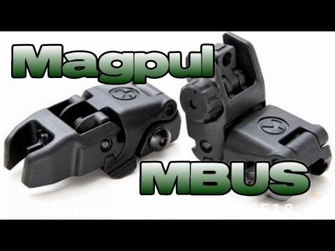 Magpul MBUS Rear Sight Review